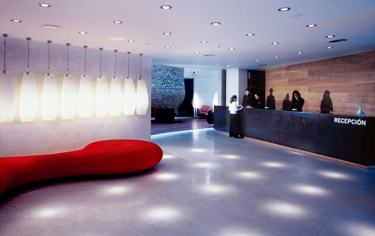 """""""El diseño de los espacios interiores del nuevo Gran Hotel Domine Bilbao es un proyecto de Estudio Mariscal.""""  El diseño de los espacios interiores del Gran Hotel Domine Bilbao interiores silken gran domine bilbao 3"""