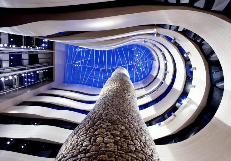 """""""El diseño de los espacios interiores del nuevo Gran Hotel Domine Bilbao es un proyecto de Estudio Mariscal.""""  El diseño de los espacios interiores del Gran Hotel Domine Bilbao interiores silken gran domine bilbao"""