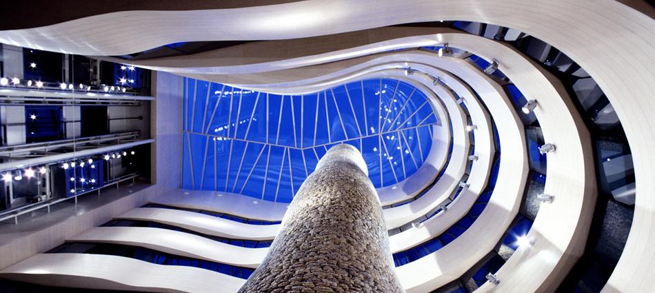 El diseño de los espacios interiores del Gran Hotel Domine Bilbao interiores silken gran domine bilbao