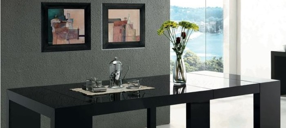 Ideas para decorar: Salon con Mesa extensible XL mesa consola extensible xl negra