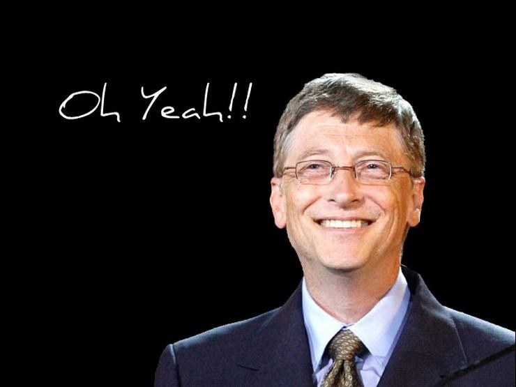 """""""Bill Gates, uno de los hombres más ricos del mundo"""" El primer empleo de los más ricos del mundo 117"""