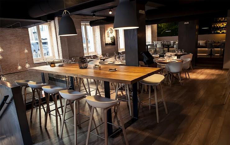 """""""El metal y la madera son los materiales protagonistas en el estilo industrial""""  ¡El Estilo Industrial se Reinventa en Hogares y Locales! 153"""