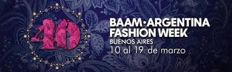 """""""BAAM – Argentina Fashion Week es la semana de moda más prestigiosa de este país""""   Lo más destacado de la 40º BAAM - Argentina Fashion Week 43"""
