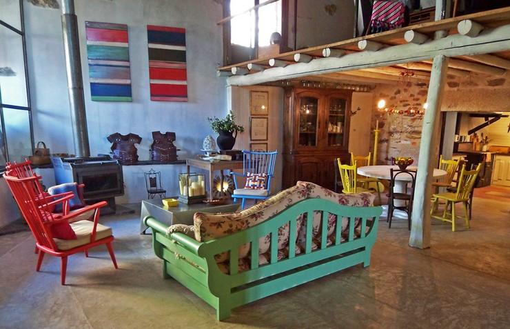 ucla decoracin de una casa de campo puede tomar estilos muy diferentes sin perder la