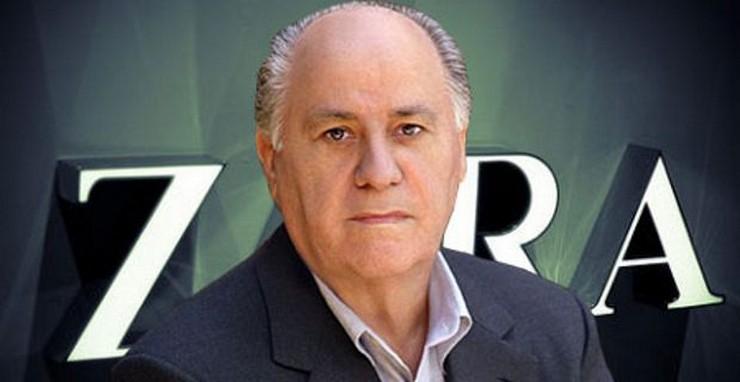 """""""Amancio Ortega, uno de los hombres más ricos del mundo""""  El primer empleo de los más ricos del mundo 54"""