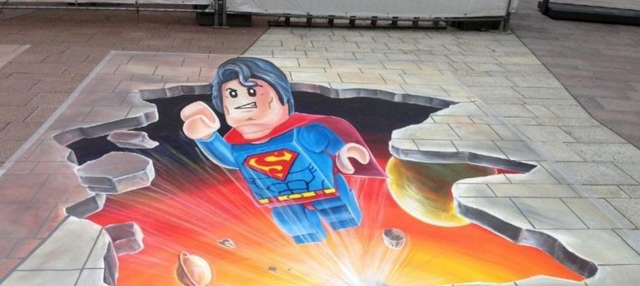 dibujos 3d Los 15 mejores dibujos 3D pintados en el suelo Image 2