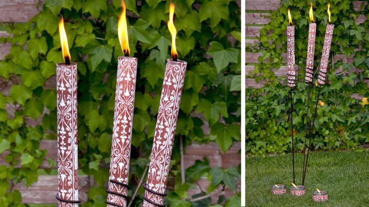 """""""La iluminación es una de las claves a tener en cuenta tanto en el diseño y decoración de interiores como de exteriores""""  Grandes ideas y alternativas de iluminación exterior garden citronella torch"""