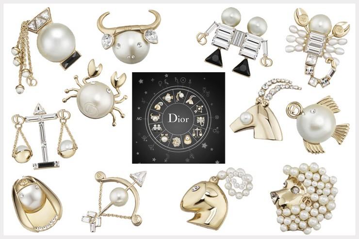 """""""Bajo el título de Tell me Dior nace un lúdico guiño a las supersticiones de monsieur Christian Dior""""  El zodiaco, inspiración para las grandes firmas 6"""