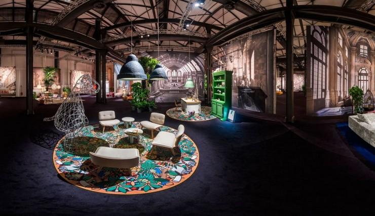 """""""Moooi marca tendencia en la feria del mueble de Milán""""  Las nuevas tendencias en i Saloni 2014 Moooi Panorama Milan2014 750x433"""