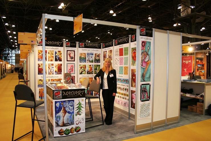 """""""En Surtex 2014 New York, se darán cita los mejores profesionales y empresas relacionados con el diseño.""""  Surtex 2014 New York: Feria Arte y Diseño USA Surtex New York 2014 1"""
