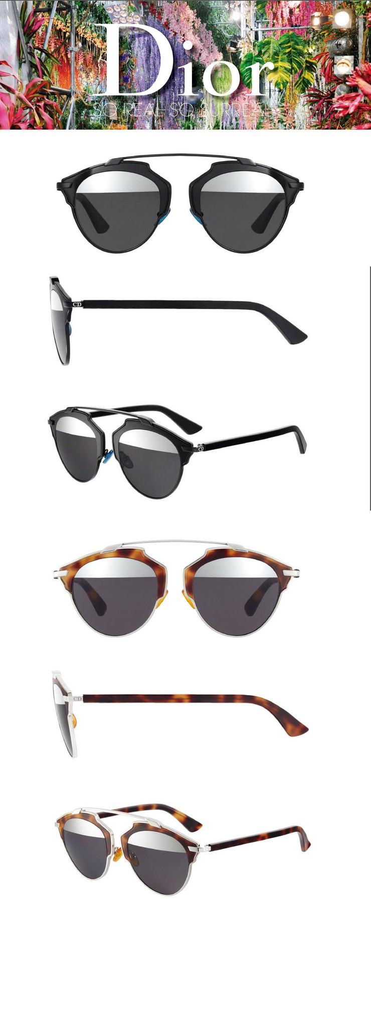"""""""Dior, Marc Jacob y Max Mara presentaron en la pasarela de Nueva York sus últimos diseños en gafas de sol""""  Marc Jacobs, Dior y Max Mara: sus nuevas gafas de sol en NY dior"""