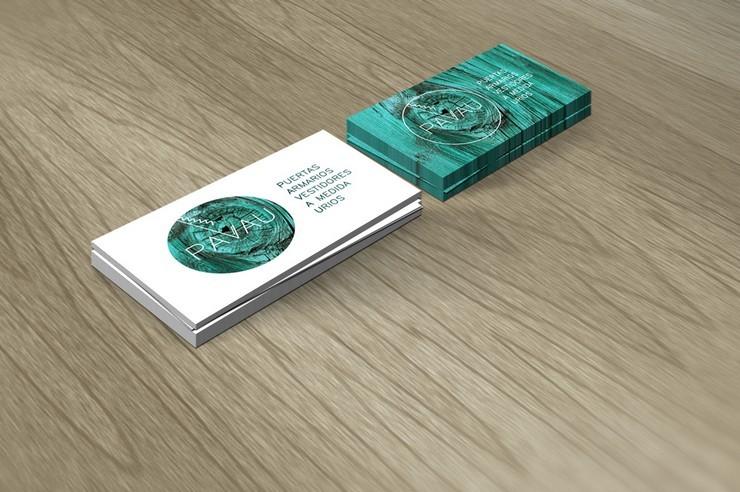 """diseño gráfico Espai""  Interiorismo, diseño gráfico e ideas con Espai imagen corporativa Pavau"