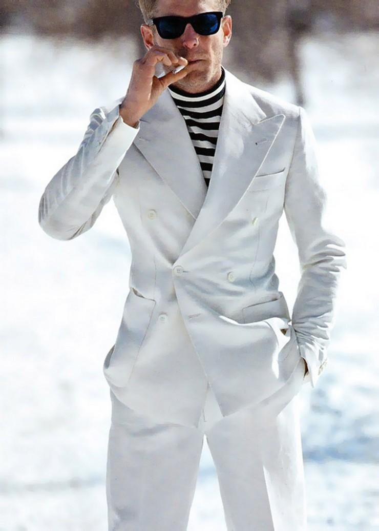 """""""Rafael de Medina habla de la evolución del clásico traje de sastre""""  Rafael de Medina habla del clásico traje de sastre lapo Rubinacci a"""