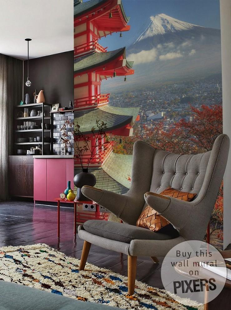 """""""Decoración exclusiva para los amantes del diseño""""  Decoración para los apasionados por el diseño mural oriental pared diseno interiores"""