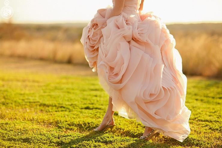 """""""El rosa es el nuevo blanco para novias""""  ¡Me caso de rosa! novia de rosa 2"""