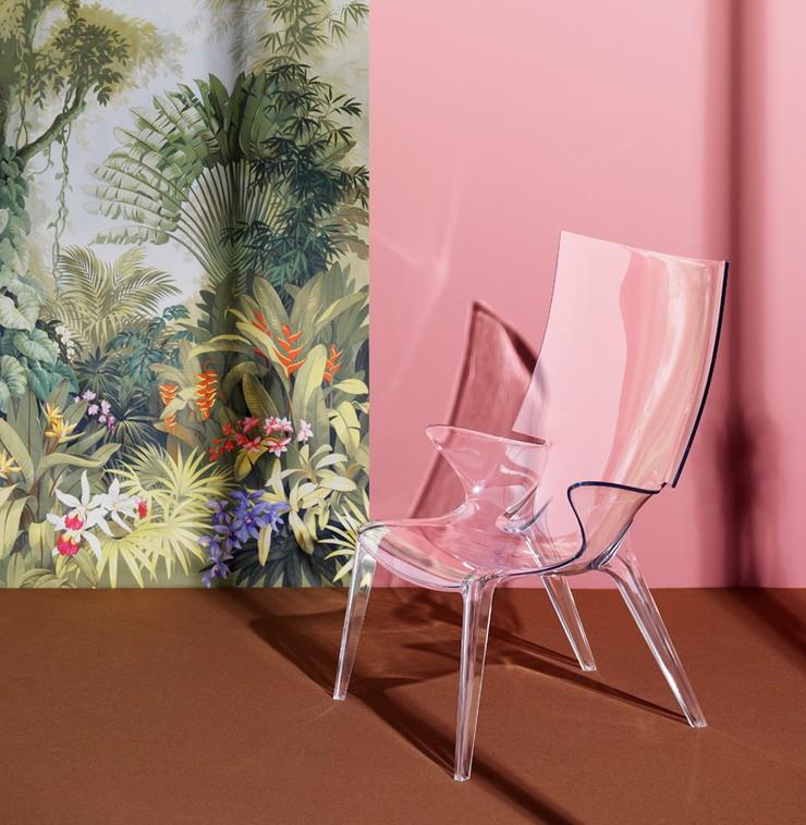 """""""Philippe Starck crea la mayor colección de policarbonato para Kartell""""  Las nuevas tendencias en i Saloni 2014 philippe starck kartell designboom01"""