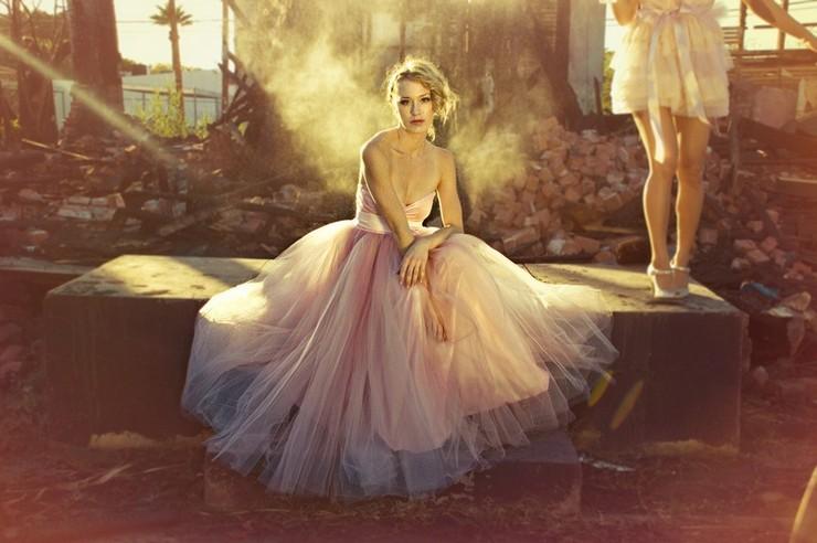 """Vestido de novia en tul rosa""  ¡Me caso de rosa! pink tulle dress"