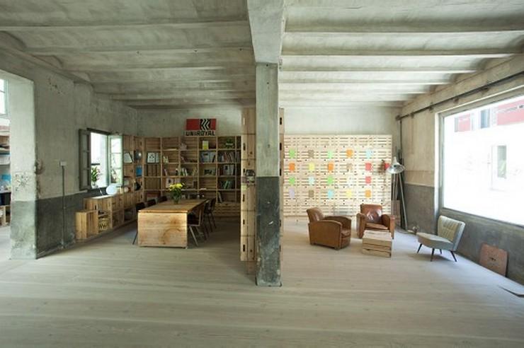 """""""Rehabilitación Oficinas Hub Madrid - Este proyecto, a cargo de CH+QS arquitectos, consiste en la transformación de un antiguo garaje en oficinas de tiempo compartido""""  Antes un garaje, ahora las oficinas Hub Madrid 1293739340 mg 9194 528x351"""