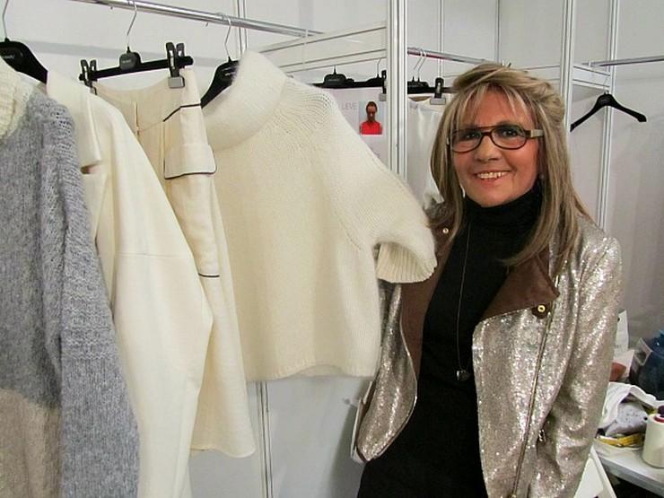 """""""La diseñadora de moda Sita Murt en el backstage de la 080 Barcelona Fashion Week""""  Diseño de la tienda Sita Murt en Barcelona 2o dia 080 010 ok"""
