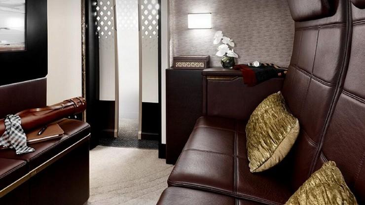 """""""El lujo no tiene limites, y una muestra de ello es la suite que la aerolínea Etihad Airways está preparando para pasajeros muy VIP: cabinas premium del A380""""  Etihad Airways sobrepasa los límites del lujo B06"""