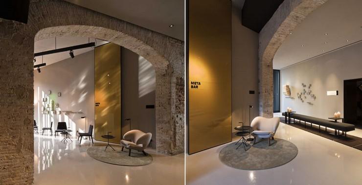 """""""Caro Hotel es un hotel-monumento de 5 estrellas ubicado en Valencia diseñado por el interiorista y diseñador industrial Francesc Rifé""""   Caro Hotel Valencia, una obra 5* de Francesc Rifé Caro Hotel Frances Rife 101"""