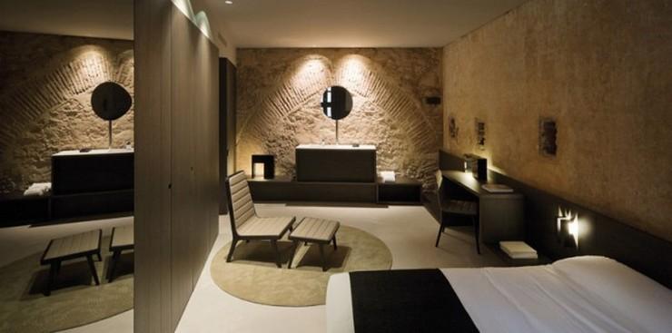 """""""Caro Hotel es un hotel-monumento de 5 estrellas ubicado en Valencia diseñado por el interiorista y diseñador industrial Francesc Rifé""""   Caro Hotel Valencia, una obra 5* de Francesc Rifé Caro Hotel Frances Rife 8"""