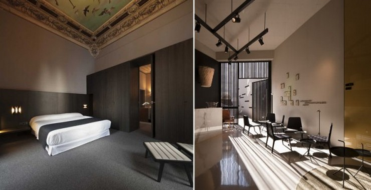"""""""Caro Hotel es un hotel-monumento de 5 estrellas ubicado en Valencia diseñado por el interiorista y diseñador industrial Francesc Rifé""""   Caro Hotel Valencia, una obra 5* de Francesc Rifé Caro Hotel Frances Rife 9"""