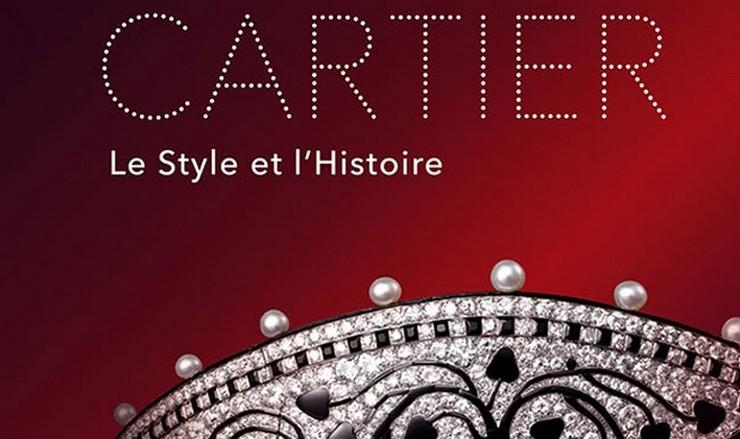 """""""Le Style et l'Histoire: una retrospectiva sin precedentes organizada por la Réunion des Musées Nationaux en el Grand Palais de Paris,  para reconocer la importancia de Cartier en el mundo""""  Retrospectiva de Cartier: Le Style et L'Histoire Cartel"""