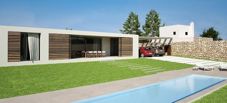 """""""Vivienda unifamiliar con piscina en Jesús, Ibiza - Proyecto de DUE Architecture & Design"""""""