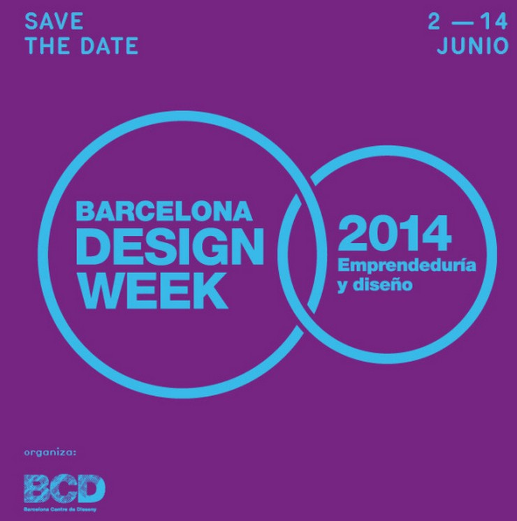 """""""Barcelona Design Week del 2 al 14 de junio de 2014"""" ¡Un mes para Barcelona Design Week 2014! barcelona design week"""