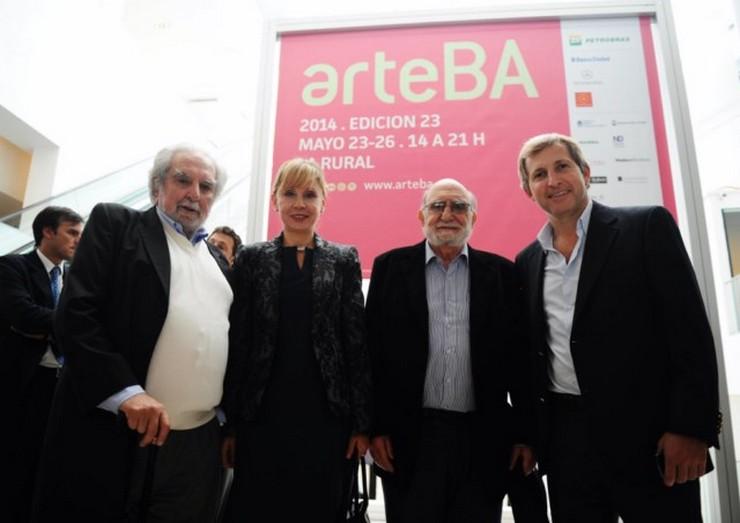 """""""La 23ra. edición de arteBA, la feria de arte contemporáneo más destacada de la región, se realizará del 23 al 26 de mayo en La Rural, con 81 galerías provenientes de dieciséis países y obras de 500 artistas. Se esperan alrededor de 100.000 visitantes""""  ArteBA 2014, feria de arte contemporáneo en Buenos Aires bco Ciudad"""