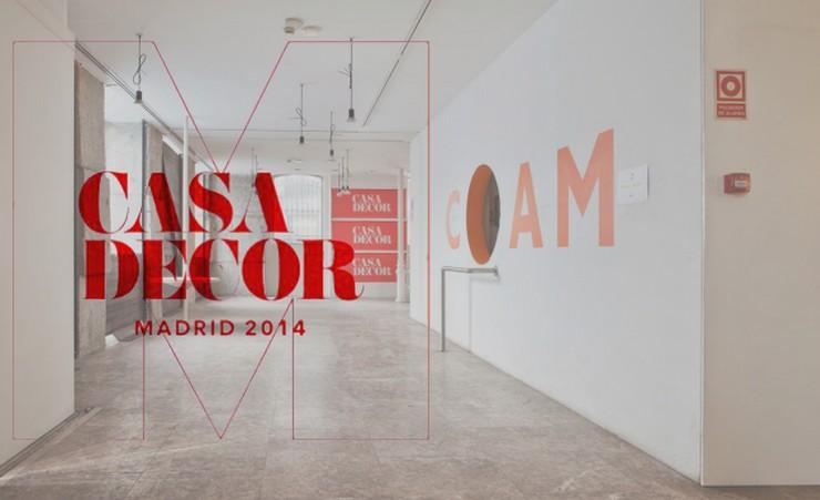 """""""Casa Decor 2014 tiene lugar en la antigua sede del Colegio Oficial de Arquitectos de Madrid -COAM""""  Casa Decor Madrid 2014: Exposición de diseño interior casa decor 2014 Madrid COAM"""
