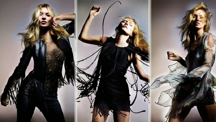 """"""" Kate Moss repite con la firma británica Topshop y diseña su segunda colección, que está disponible desde el 30 de abril 2014 en Topshop, Nordstrom y Netaporter""""  Kate Moss vuelve a diseñar para Topshop portada4"""