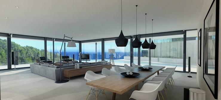"""""""Vivienda en cap martinet, Ibiza - Proyecto de DUE Architect & Design"""""""