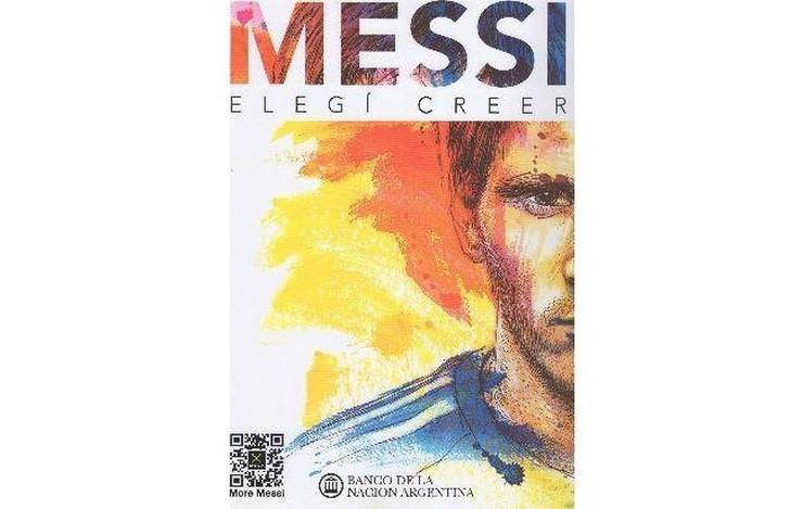 """""""'Elegí creer' es el lema de la Fundación que lleva su nombre y ahora también título de la obra solidaria que relata su historia a través de testimonios de quienes le han acompañado en su camino hacia lo más alto""""  """"Elegí Creer"""", el libro de la vida de Leo Messi 100"""