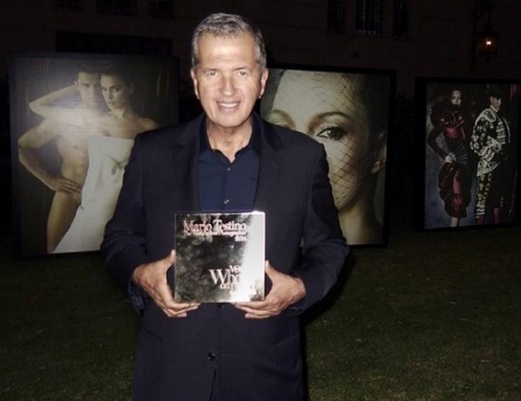 """""""Mario Testino recibió el premio Who's On Next como el Mejor fotógrafo del mundo otorgado por la prestigiosa revista Vogue""""  Mario Testino: Premio WON al Mejor Fotógrafo del Mundo 1403269344 247"""