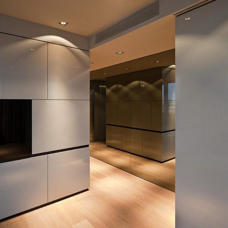 """""""El Hotel Sana ocupa un edificio de nueva planta de 15.710 m2, distribuidos entre espacios comunes, 159 habitaciones dobles, 13 suites y 42 apartamentos. Las habitaciones se han diseñado utilizando dos acabados diferentes, el lacado claro, brillante y el roble, con la intención de que el usuario que repita, tenga la opción de variar el ambiente en su nueva estancia en el hotel""""  Hotel Sana en Berlín: rigor y elegancia de la mano de Rifé 20 Francesc Rife Hotel Sana 600x600"""