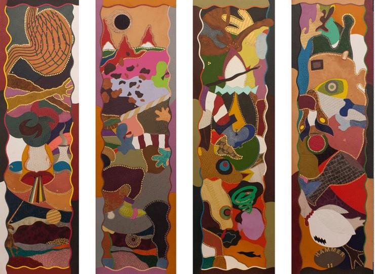 """Exposición """"Crypto"""" de Jonathan Hammer en Galería Fúcares Madrid - """"Mi interés por los juguetes, payasos y monstruos no remite directamente a la infancia, lo que realmente me fascina es la intensidad de los valores que depositamos en estos objetos e imágenes."""", declara el artista Jonathan Hammer""""  Galería Fúcares se complace en presentar... Captura de pantalla 2014 05 26 a las 11"""