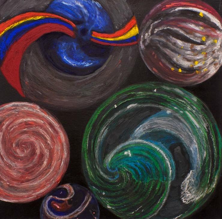 """""""""""Crypto"""", la quinta exposición de Jonathan Hammer en la Galería Fúcares de Madrid, aborda estos temas –el miedo y la excitación, el amor y la repulsión– con una iconografía sutil y sensible, elegante y provocadora.""""  Galería Fúcares se complace en presentar... Captura de pantalla 2014 05 26 a las 11"""