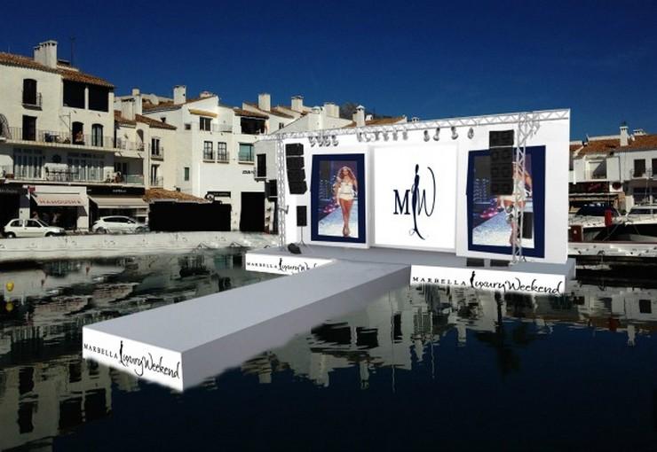 """""""Sobre la pasarela de Marbella Luxury Weekend 2014, la llamada Marbella Luxury Catwalk, han pasado los de diseños de Custo Barcelona, Andrés Sardá, La Oca Hats y la Marbella Academy Design, entre otros""""  Marbella Luxury Weekend 2014: lujo, moda y diseño PASARELA2"""