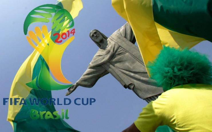 """""""Hoy, 12 de junio: Inaguración oficial del Mundial de Fútbol 2014 que se celebrará hasta el próximo 13 de julio.""""  Brasil decora sus calles para el Mundial de Fútbol 2014 mundial2014"""