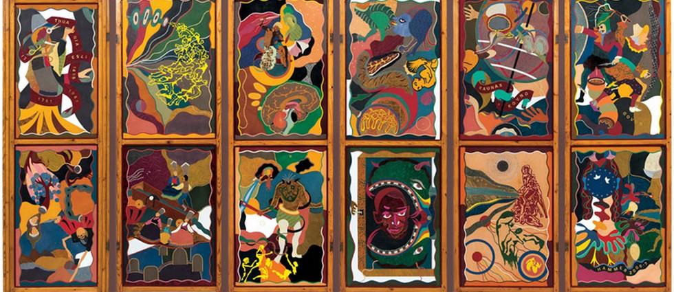 """""""Obras del artista estadounidense Jonathan Hammer""""  Galería Fúcares se complace en presentar… portada1"""