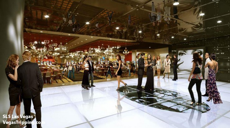 """""""SLS rendering entrance -  La colección Curio de Hilton se centrará en hoteles boutique de lujo, principalmente en los Estados Unidos y en Europa, y por ahora tiene acuerdos para cinco establecimientos en América, incluyendo el SLS Las Vegas""""  Hilton presenta su nueva marca Curio sls rendering entrance"""