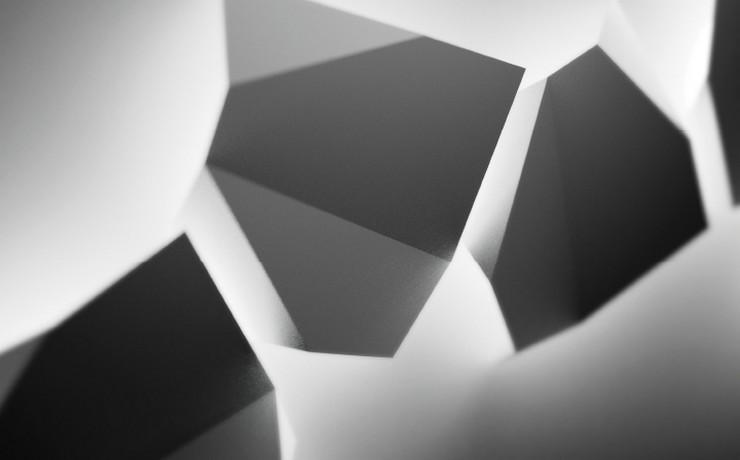 """Ideas para exteriores: el aplique de policarbonato Origami diseñado por Ramón Esteve para Vibia""  Ideas para exterior: aplique Origami de Vibia 0008 det 01  out eur"