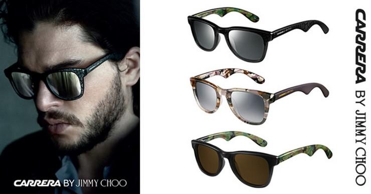 """""""Carrera y Jimmy Choo anunciaron recientemente el lanzamiento de una colección cápsula exclusiva de gafas de sol Carrera por Jimmy Choo para hombre""""  Las gafas de sol para él de Carrera y Jimmy Choo Carrera by Jimmy Choo1"""