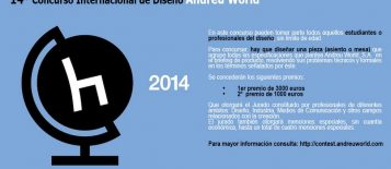 XVI Concurso de Diseño Internacional Andreu World