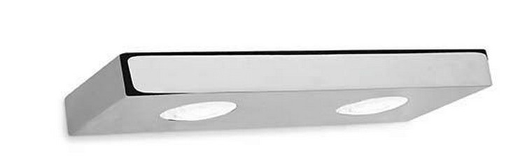 """""""La colección PLA cuenta con piezas equipadas con LED de 4W (3000K) a 220 V (sin driver), sus estrechas líneas rectas de tan sólo 25mm de altura proveen a los aparatos de un aspecto estilizado y sencillo pero que sorprenden por su rendimiento lumínico.""""  Colección PLA: elegantes apliques de Pujol Iluminación apliques pared modernos cuartos bano 58244 4222663"""