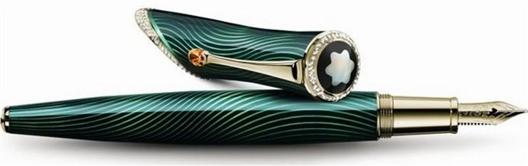 """""""La pluma Montblanc Rita Hayworth Limited Edition será una edición limitada a sólo 46 ejemplares, en honor al año en el que se estrenó Gilda (1946)""""  El glamour de Rita Hayworth en la pluma Montblanc pluma Montblanc Rita Hayworth2"""
