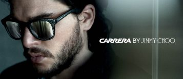 """""""Carrera y Jimmy Choo anunciaron recientemente el lanzamiento de una colección cápsula exclusiva de gafas de sol Carrera por Jimmy Choo para hombre"""""""