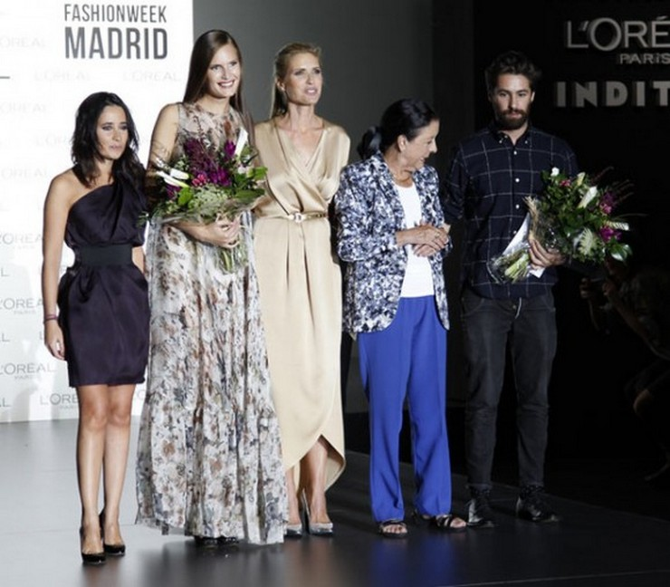"""""""Una vez más L'Oréal premiará a la mejor modelo y a la mejor colección de diseñador consagrado.""""  Mercedes Benz Fashion Week Madrid septiembre 2014: las novedades feria de moda mercedes en madrid"""